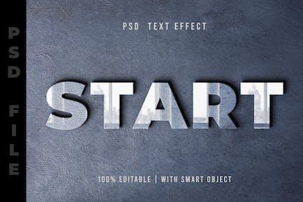 Reflection PSD Text Editable