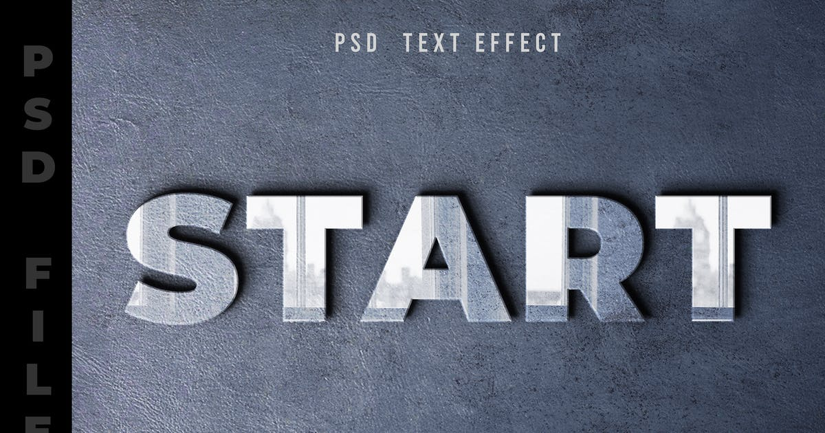 Download Reflection PSD Text Editable by modaldesain