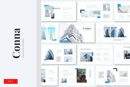 Conna - Building Construction Powerpoint
