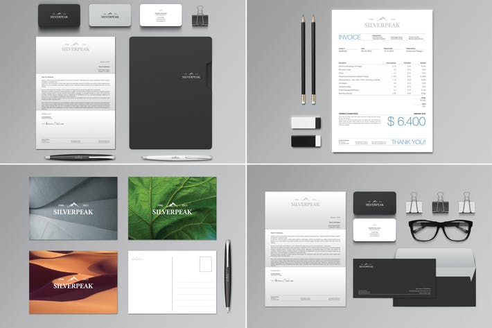 Thumbnail for Silverpeak Stationery Set & Invoice