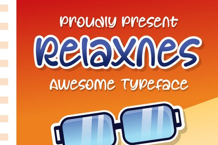 DS Relaxnes - Playful Typeface