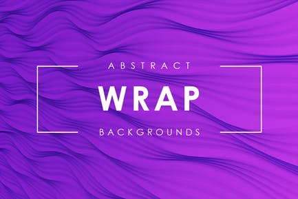 Wrap Abstract Backgrounds Vol.1