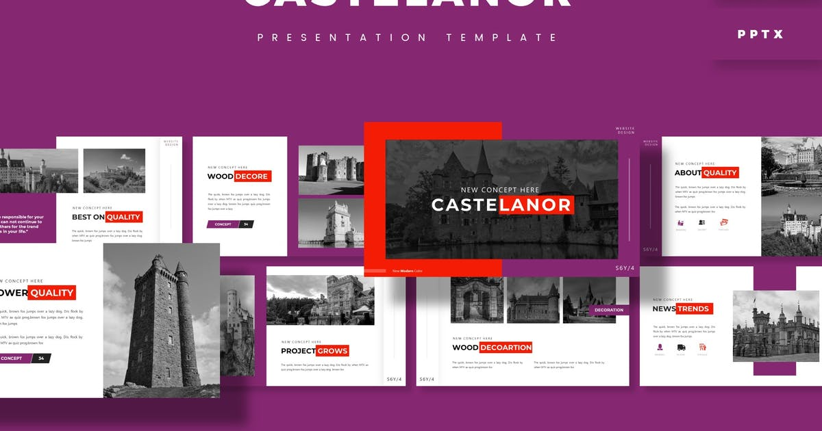 Download Castelanor - Presentation Template by aqrstudio
