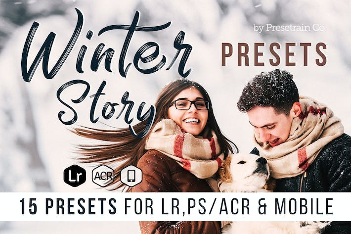 Thumbnail for Winter Story Presets for Desktop and Mobile