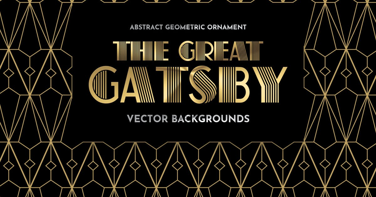 Download Gold Geometric Vector Backgrounds by themefire