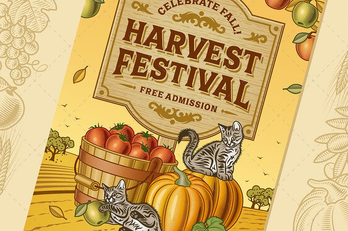 Thumbnail for Harvest Festival Poster