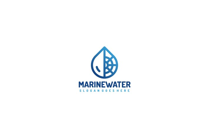 Thumbnail for Marine Water Logo