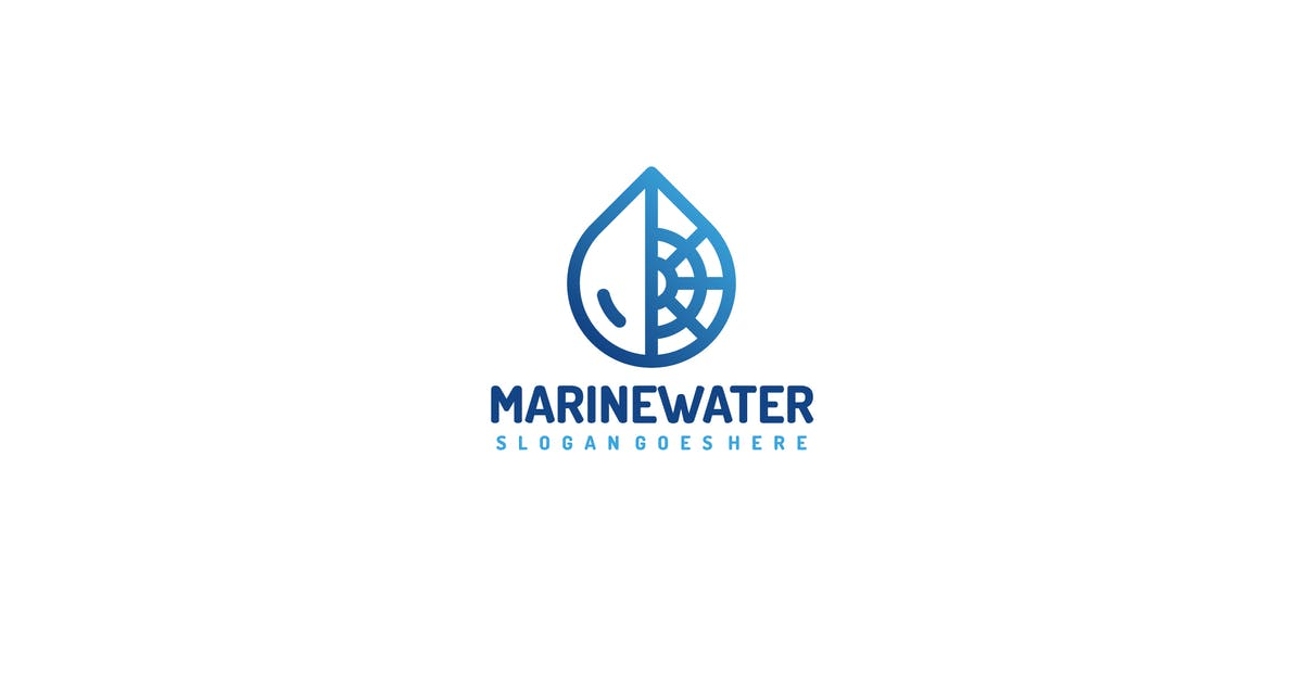 Download Marine Water Logo by 3ab2ou