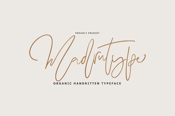 Madrutype Signature