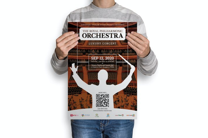 Thumbnail for Orchestra : Music Event Poster