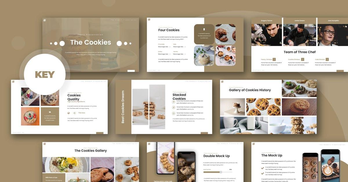 Download The Cookies - Keynote Template by karkunstudio