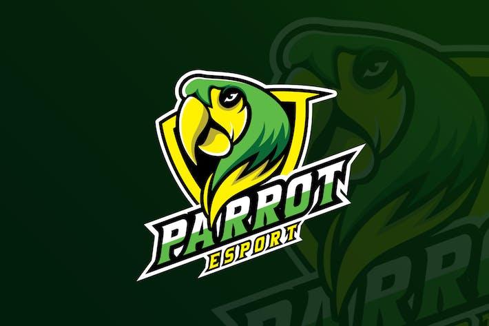 Thumbnail for Parrot Mascot & eSports Gaming Logo