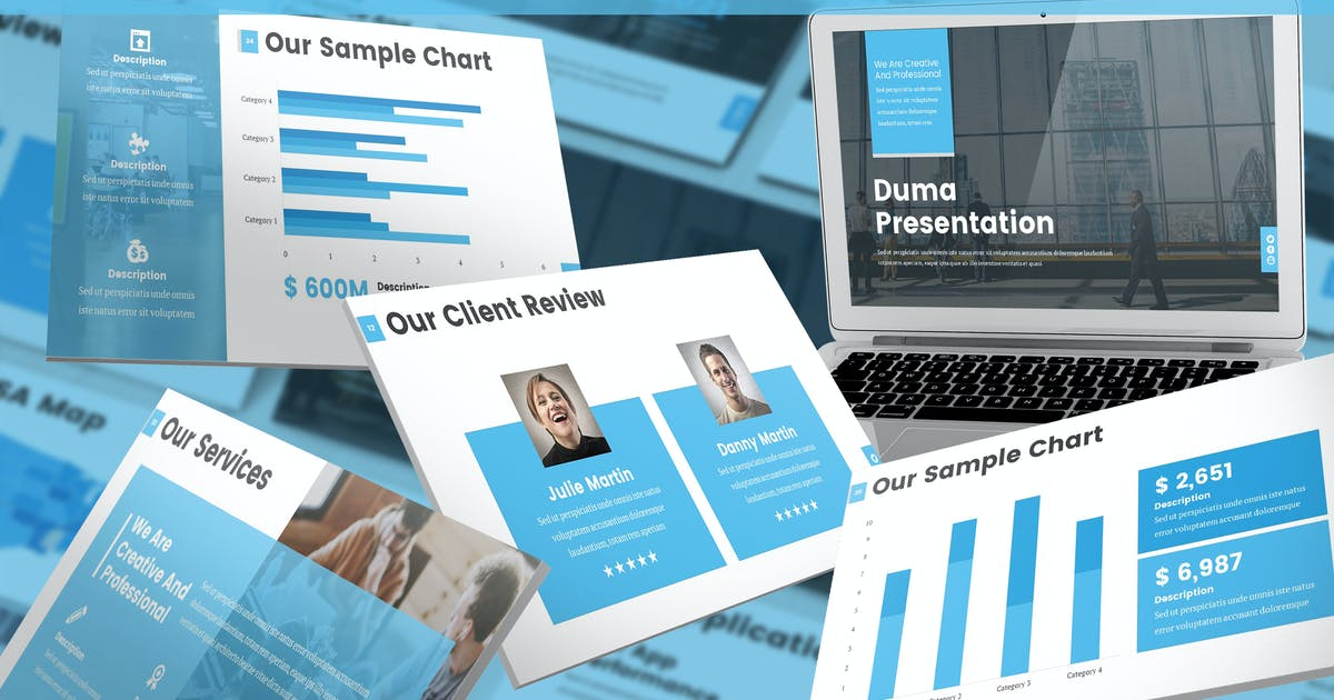Download Duma - Multipurpose Keynote Template by SlideFactory