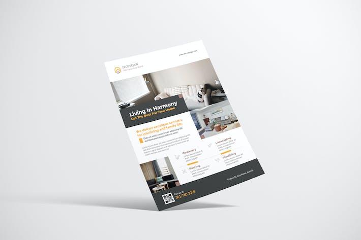 Elegant Interior Flyer Design