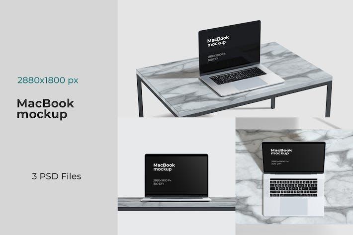 Thumbnail for Macbook Laptop Website Display Mockups