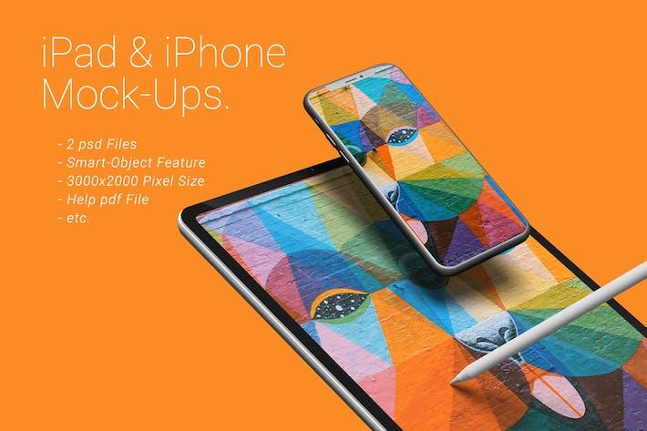 Thumbnail for iPad & iPhone Mock-Ups
