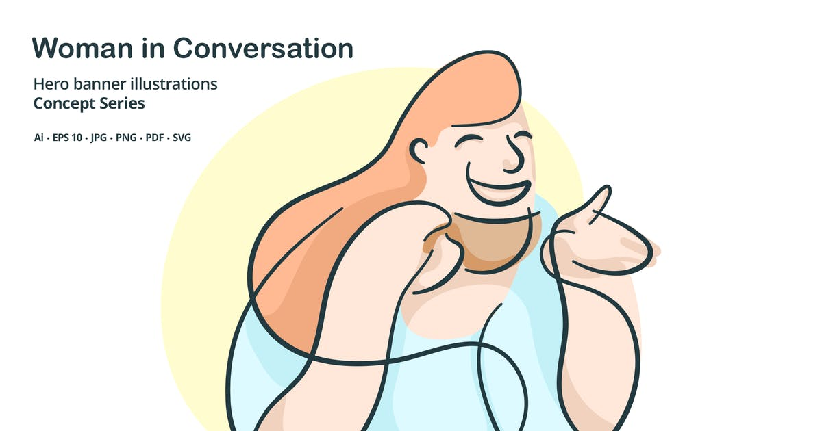 Download Woman Conversation Vector Illustration by roundicons
