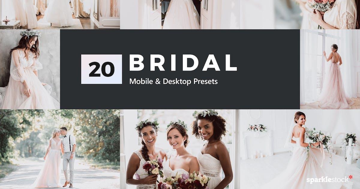 Download 20 Bridal Lightroom Presets & LUTs by sparklestock