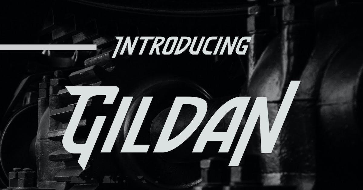 Download Gildan - Motors Font by Macademia