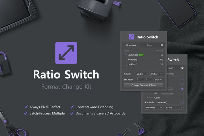 Thumbnail for Ratio Switch - Format Change Kit