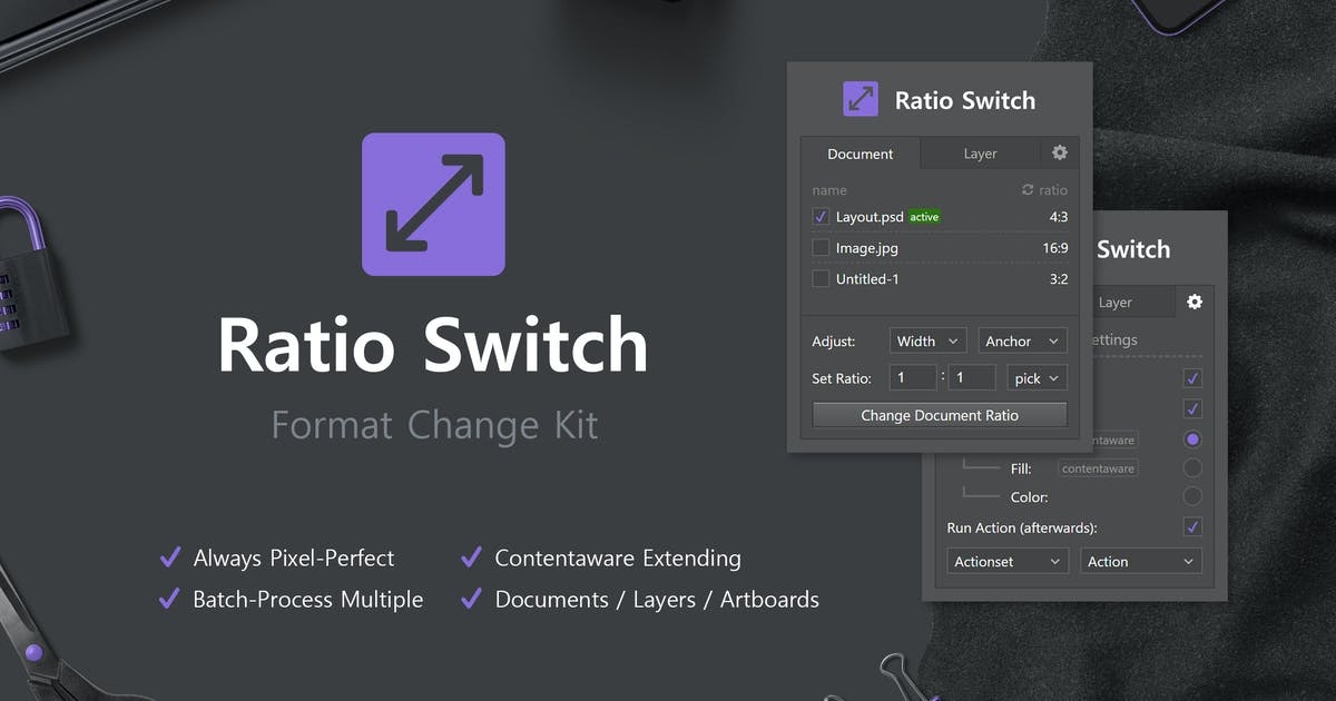 Download Ratio Switch - Format Change Kit by h3-design