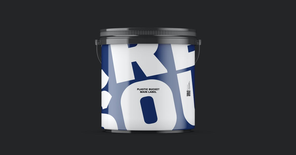 Download Gloss Plastic Bucket 5.2Kg Eye Level by crftsco