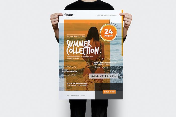 Cover Image For Fshn Premium : Summer Collection Flyer