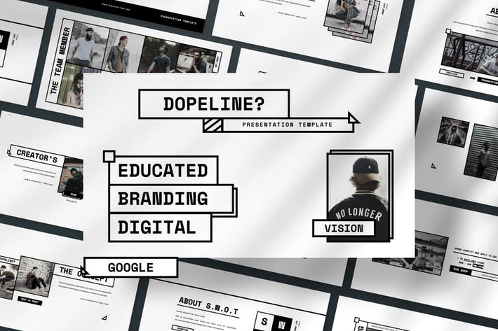 Thumbnail for Dopeline Brand Google Slide Presentation
