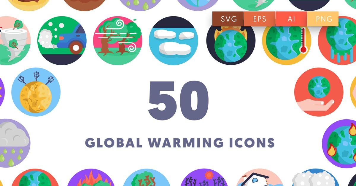 Download 50 Global Warming Icons by thedighital