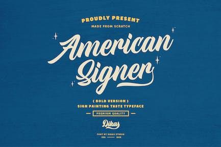 American Signer - Bold