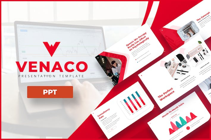 Thumbnail for Venaco - Business Powerpoint Template