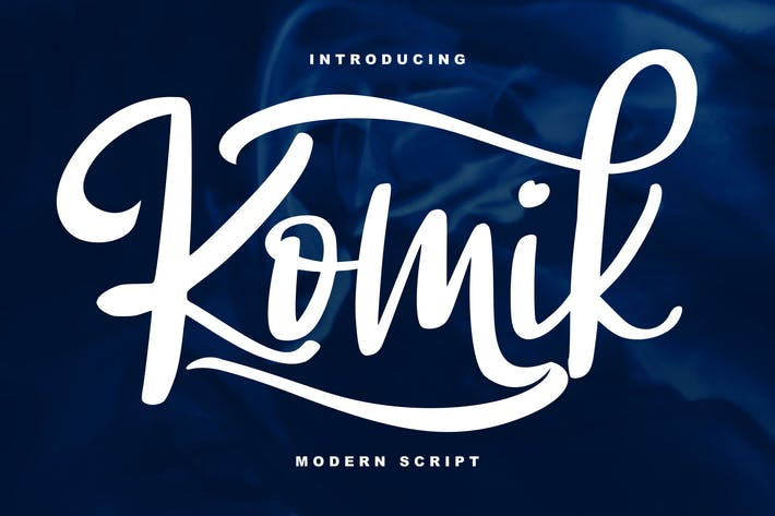 Thumbnail for Komik Modern Script