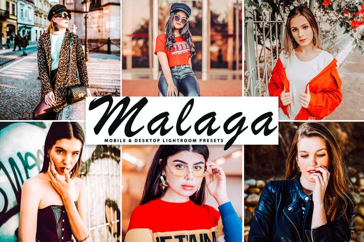 Thumbnail for Malaga Mobile & Desktop Lightroom Presets