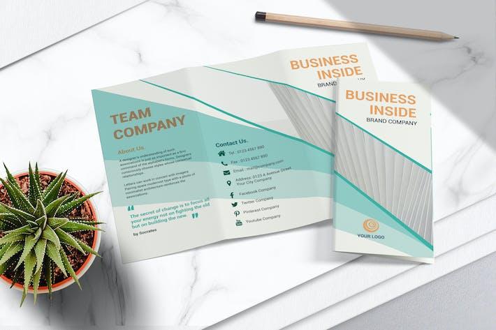 Thumbnail for Brochure Business Tri Fold Vol.04