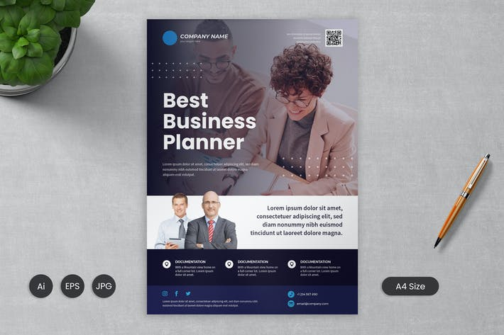 Thumbnail for Business Flyer Template 02 - Slidewerk