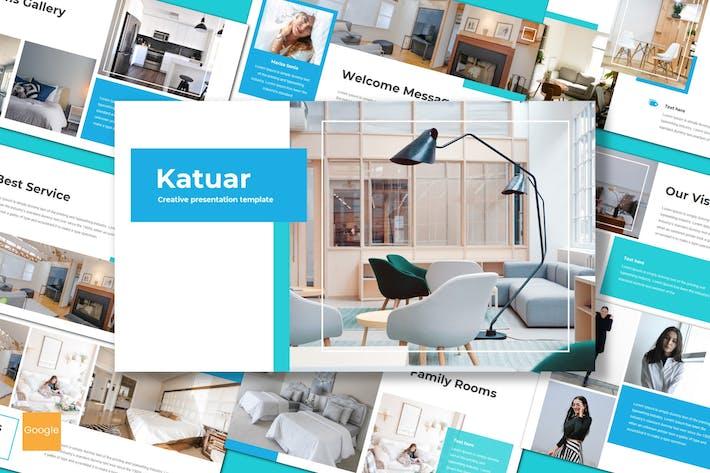Thumbnail for Katuar - Google Slides Template