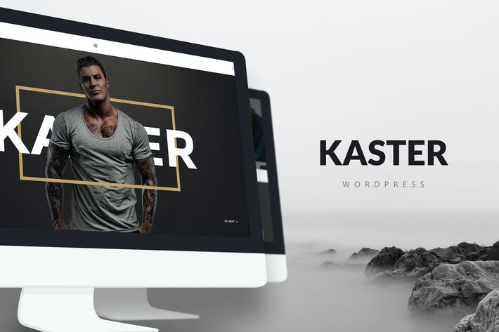 Thumbnail for Kaster — Creative, Blog, Portfolio WordPress Theme