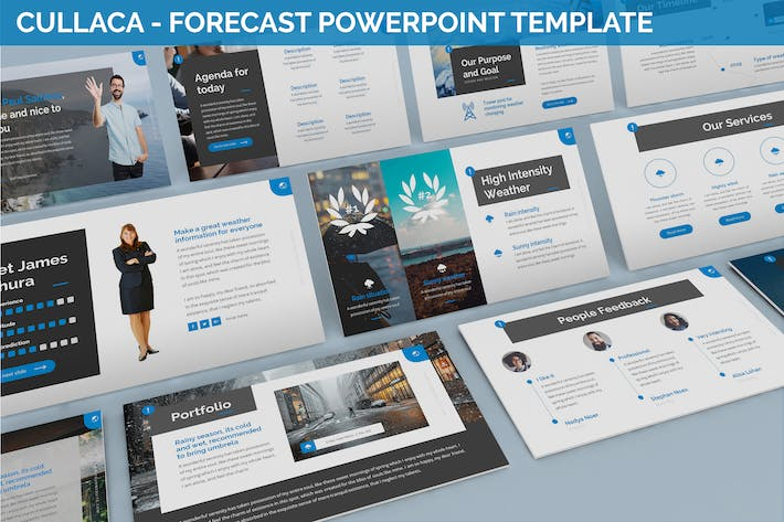 Thumbnail for Cullaca - Forecast Powerpoint Template