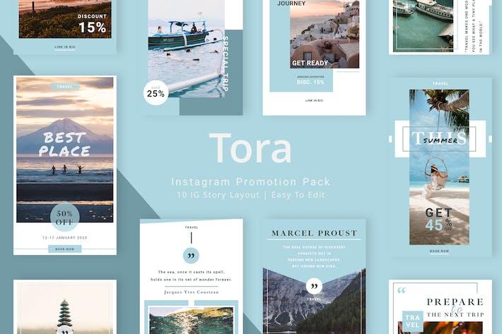 Thumbnail for Tora - Instagram Story Pack