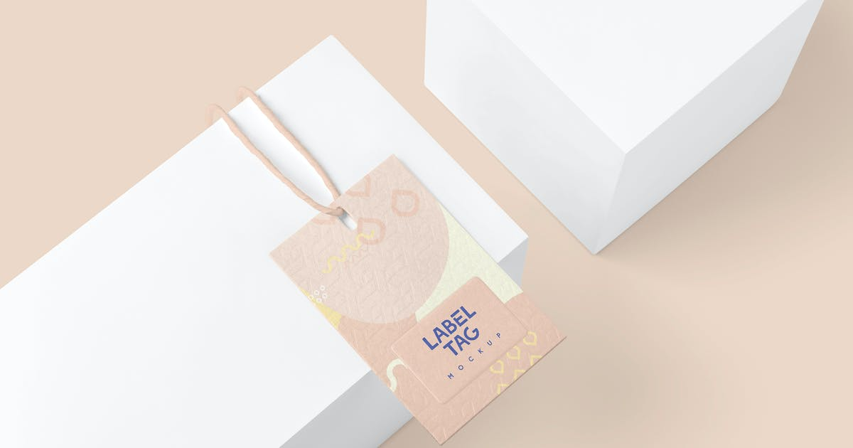 Download Clothing Label Tag Mockups by DesignNeutrons