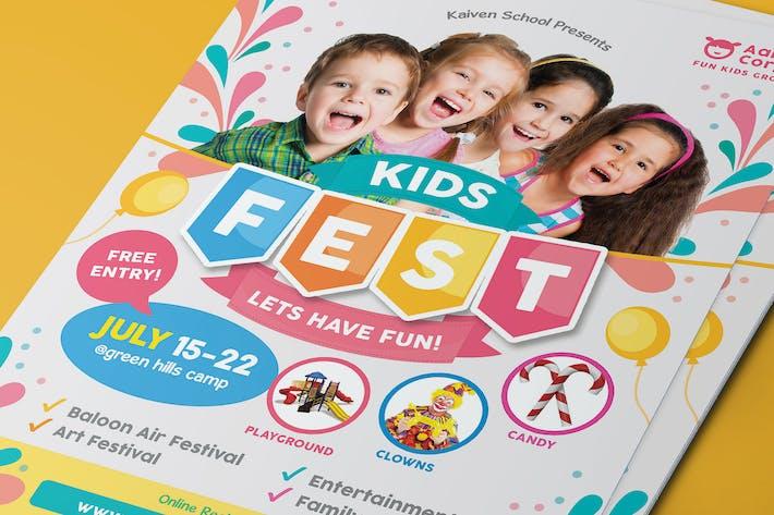 Thumbnail for Kids Festival Flyer