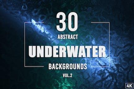 30 Abstrakte Unterwasser-Hintergründe - Band 2