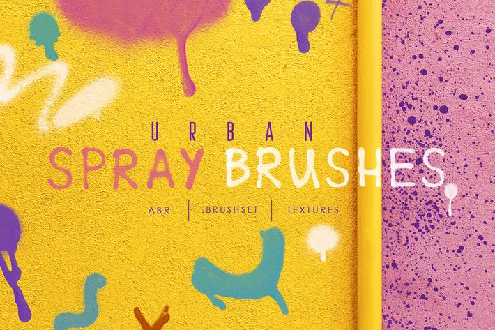Thumbnail for Procreate&Ph Urban Spray Brushes