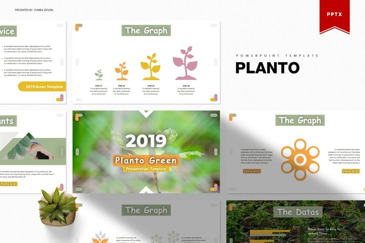 Thumbnail for Planto | Powerpoint Template