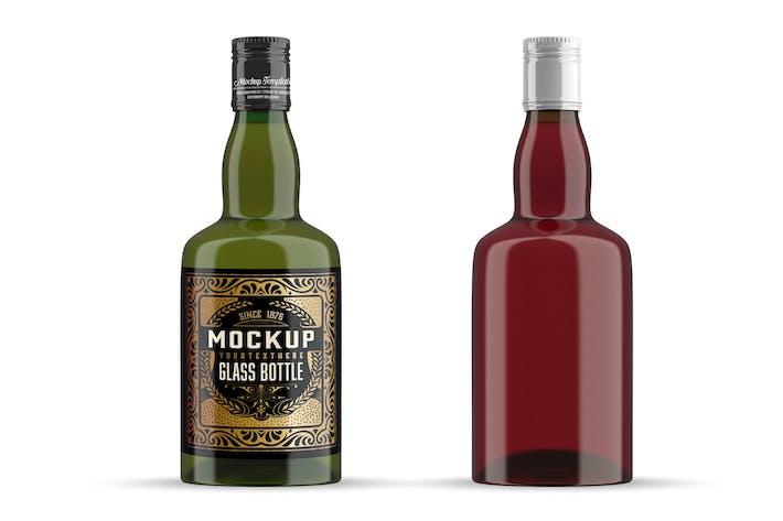 Thumbnail for Whiskey Glass Bottle Mockup