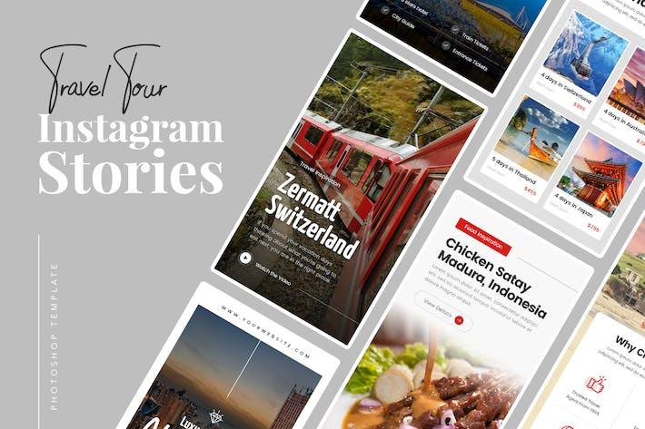 Reisetour Instagram Stories
