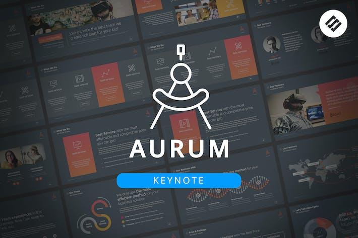 Thumbnail for Aurum - Keynote Template