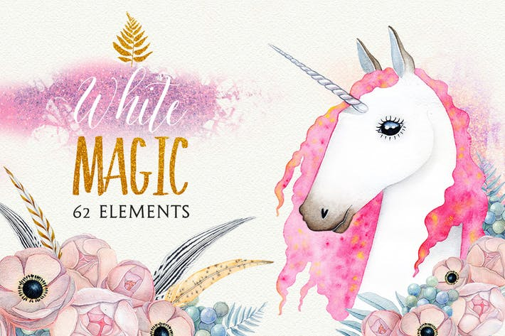 Thumbnail for WHITE MAGIC Aquarell Set