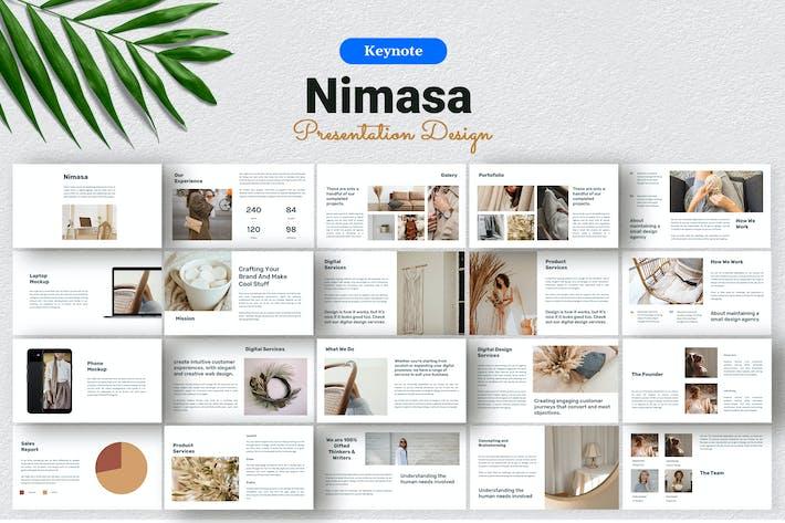 Thumbnail for Nimasa - Product Presentation Template Keynote