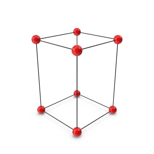 Simple Tetragonal Crystal Lattice Structure